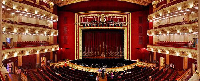 Академический театр оперы и балета: интерьер зрительного зала