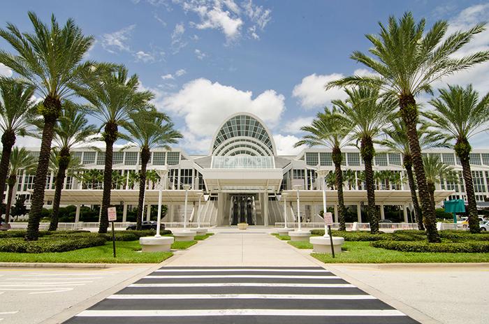 Конференц-центр Orange County в Орландо, США