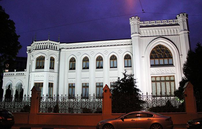 Особняк Зинаиды Морозовой на Спиридоновке: ночной кадр