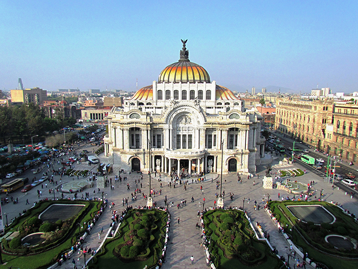 Дворец изящных искусств в Мехико, Мексика