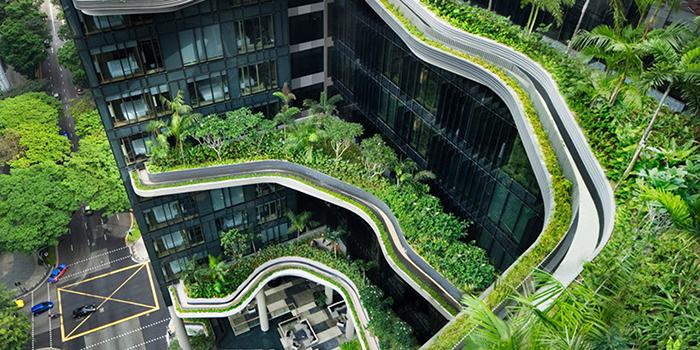 Отель-сад «Парк Роял» в Сингапуре
