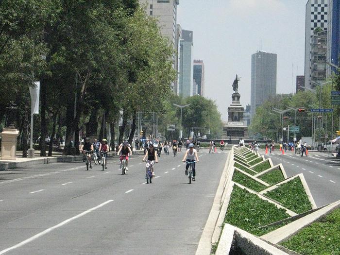 Пасео-де-ла-Реформа в Мехико