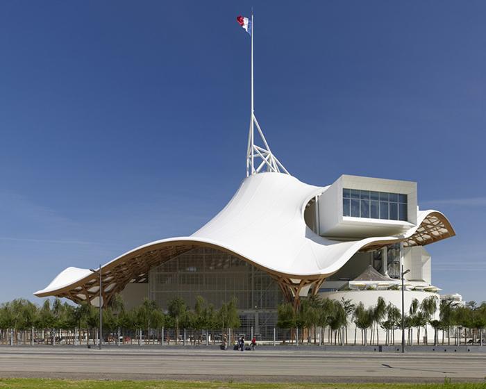 Национальный центр искусства и культуры имени Жоржа Помпиду в Меце