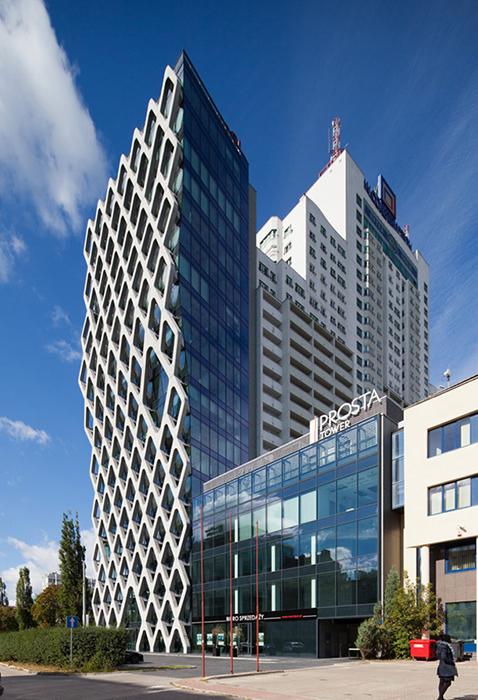 Офисный центр Prosta Tower в Варшаве