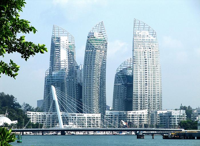 Многофункциональный комплекс 'Отражение' в Сингапуре