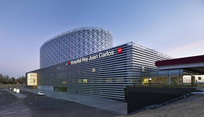 Больница имени короля Испании Хуана Карлоса в Мадриде