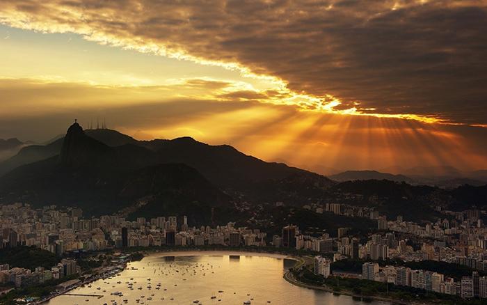 Рио на закате