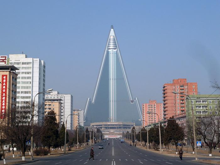 Гостиница Рюгён в Пхеньяне