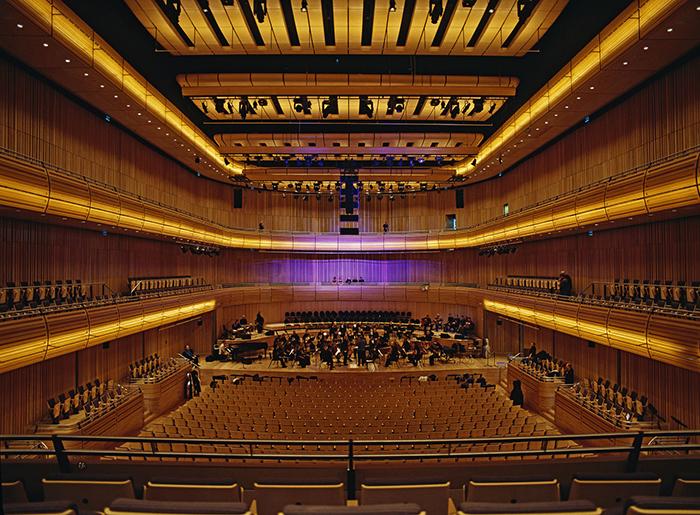 Centro de Educação Musical 'Sage Gateshead' em Gateshead, Reino Unido