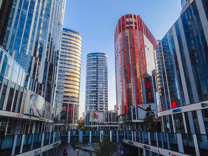Многофункциональный комплекс Sanlitun Soho в Пекине