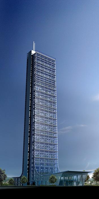 Башня Сапфир в Стамбуле.