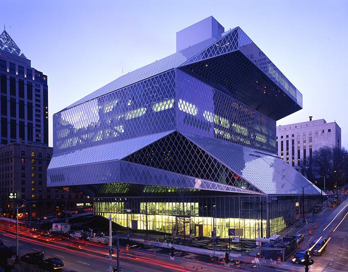 Центральная библиотека в Сиэтле