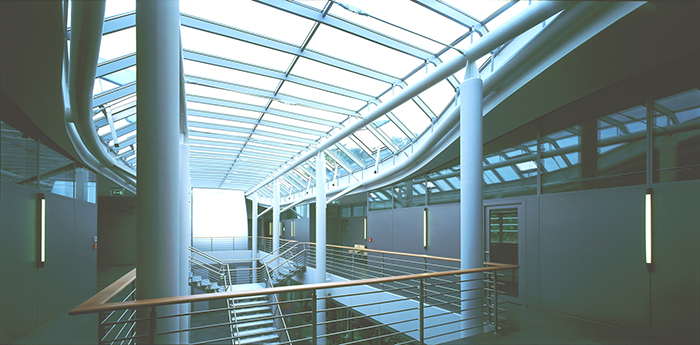 Научно-исследовательский центр компании Semperit в Вимпассинге: интерьер помещений