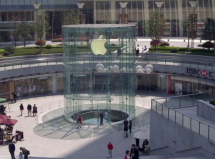 Магазин Apple в Шанхае