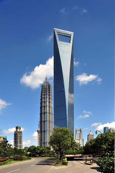 Всемирный финансовый центр в Шанхае