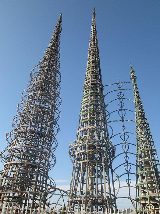 Башни Уоттса в Лос-Анджелесе