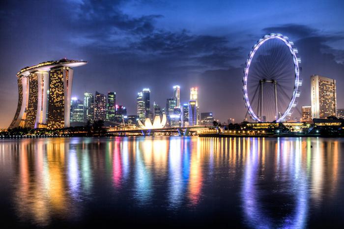 Панорама Сингапура