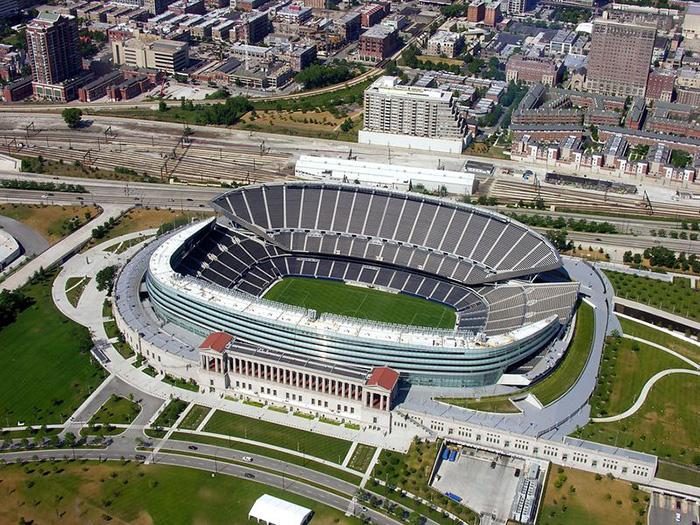 Стадион Солждер Филд в Чикаго