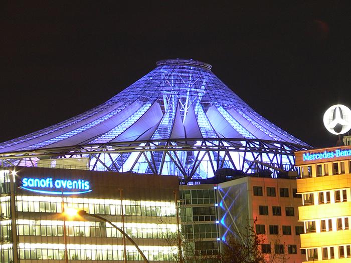 Многофункциональный комплекс «Сони-центр» в Берлине