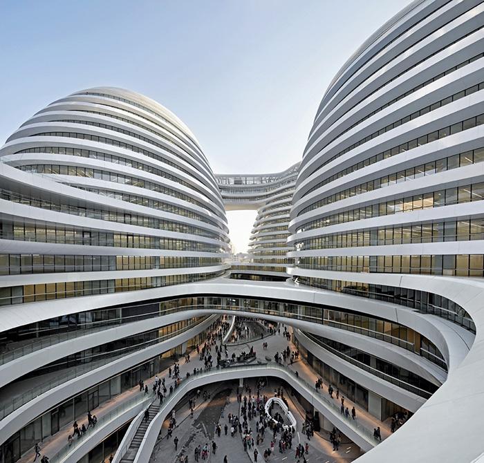 Многофункциональный комплекс Galaxy SOHO в Пекине, Китай