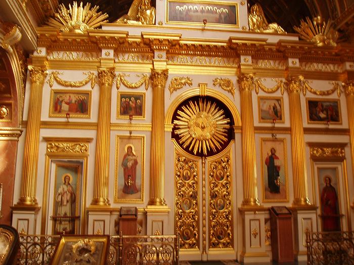 Спасский Староярмарочный собор: интерьер