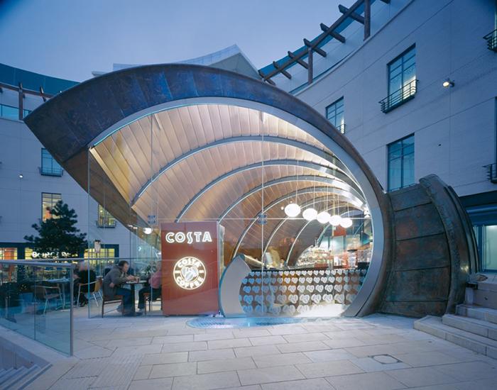 Кафе «Спираль» в Бирмингеме