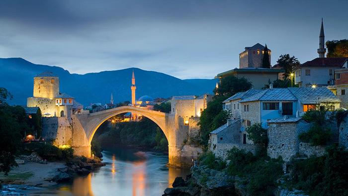 Старый мост в Мостаре