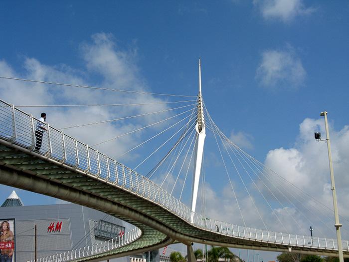 «Струнный мост» в Иерусалиме, Израиль