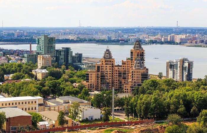 Жилой комплекс «Суворовский» с высоты птичьего полета