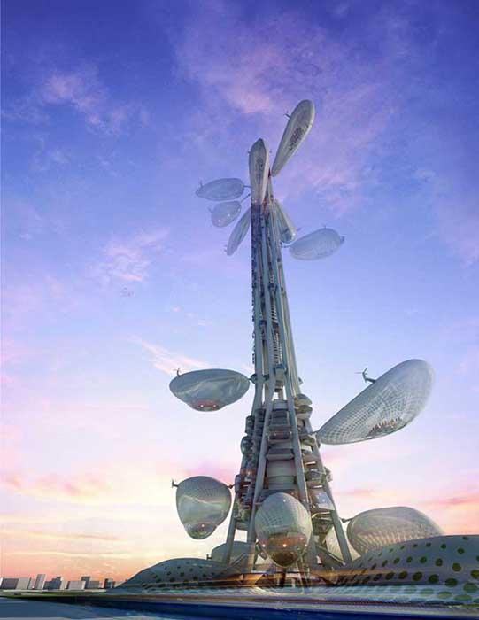 Башня в Тайчжуне