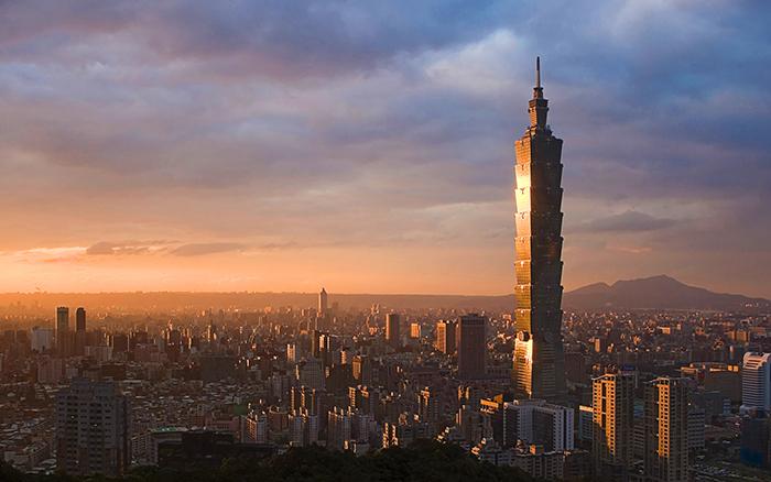 Панорама Тайбэя