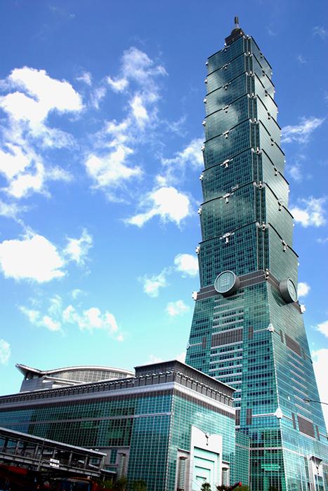 Небоскреб 'Тайбэй 101' в Тайбэе