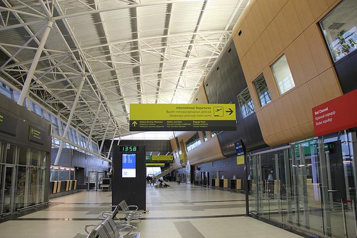 Терминал 1A международного аэропорта Казани: интерьер помещения