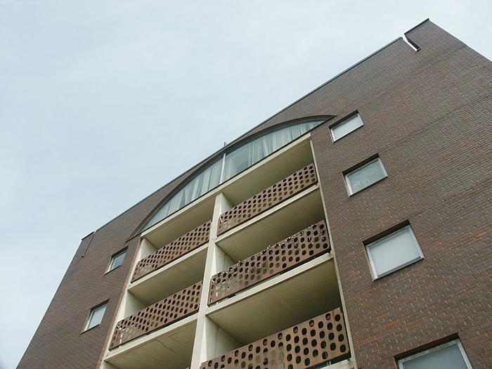 Жилой комплекс «Гилд-хаус»: фрагмент фасада