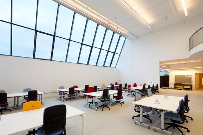 Корпус Рейд Школы искусств в Глазго: интерьер помещения