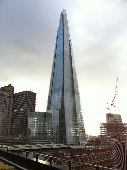 The Shard в Лондоне.