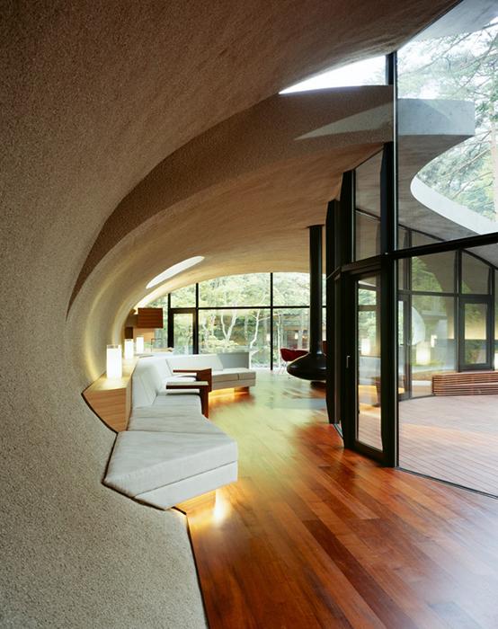 Невероятный интерьер виллы Shell House