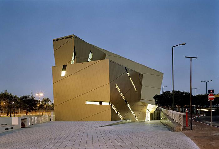Студенческий центр 'Воль' университета Бар Илан в Рамат-Гане, Израиль