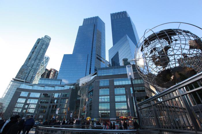 Багатофункціональний комплекс Тайм-Уорнер-Центр в середньому Манхеттені