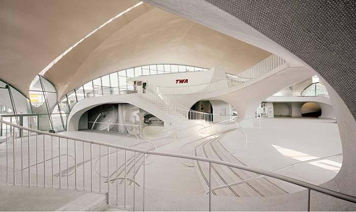 Внутреннее помещение пятого терминала
