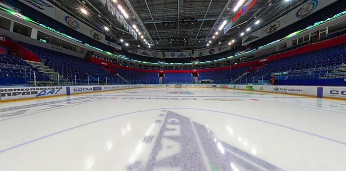 Универсальный спортивный комплекс «Уфа-Арена»: внутри здания