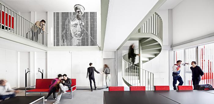 Интерьер студенческого общежития-жилого дома