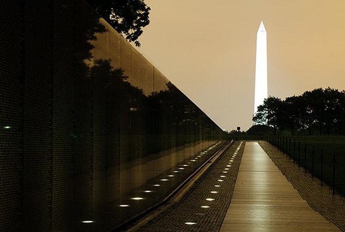 Мемориал ветеранов войны во Вьетнаме