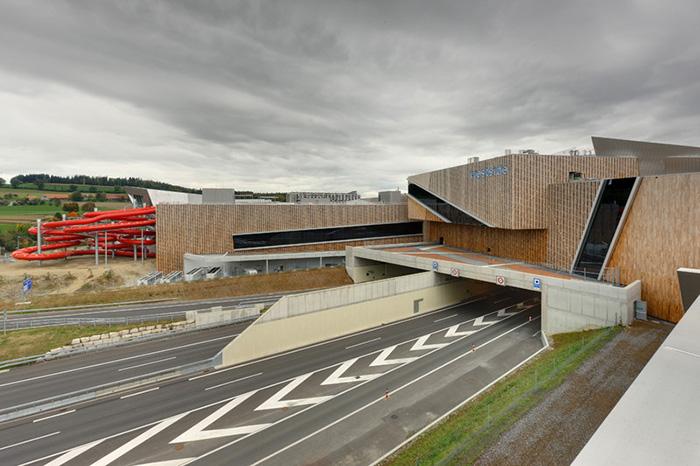 Торгово-развлекательный комплекс 'Вестсайд' в Брюннене, Швейцария