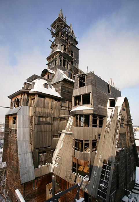 Деревянный небоскреб в Архангельске