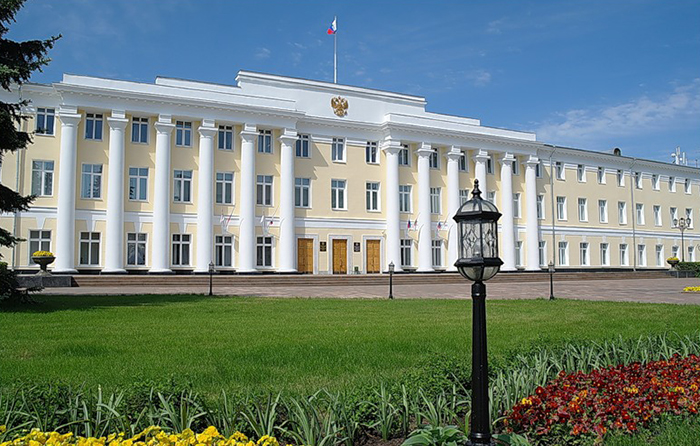 Здание Нижегородского Законодательного Собрания