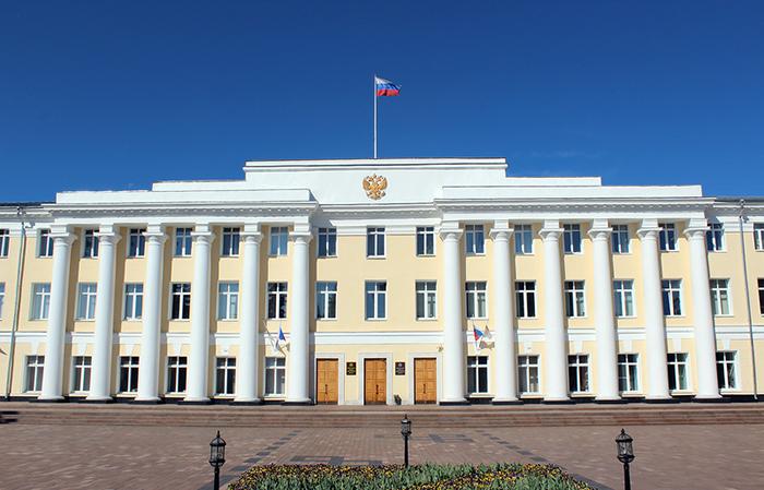 Здание Нижегородского Законодательного Собрания: главный фасад