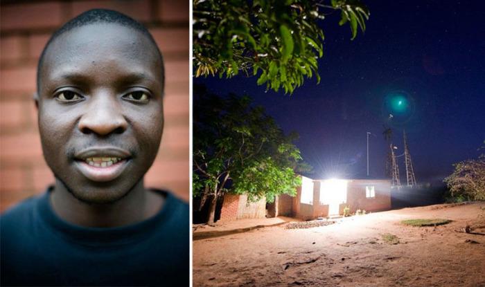 Подросток из Африки подарил свет жителям маленькой деревушки на востоке континента.