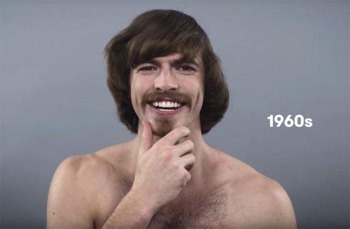 В шестидесятые годы прошлого столетия мужчины начали отращивать волосы.