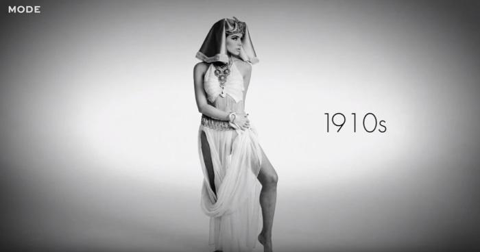 Царица Египта из фильма «Клеопатра», роль которой в 1917 году исполнила американская актриса Теда Бара (Theda Bara).